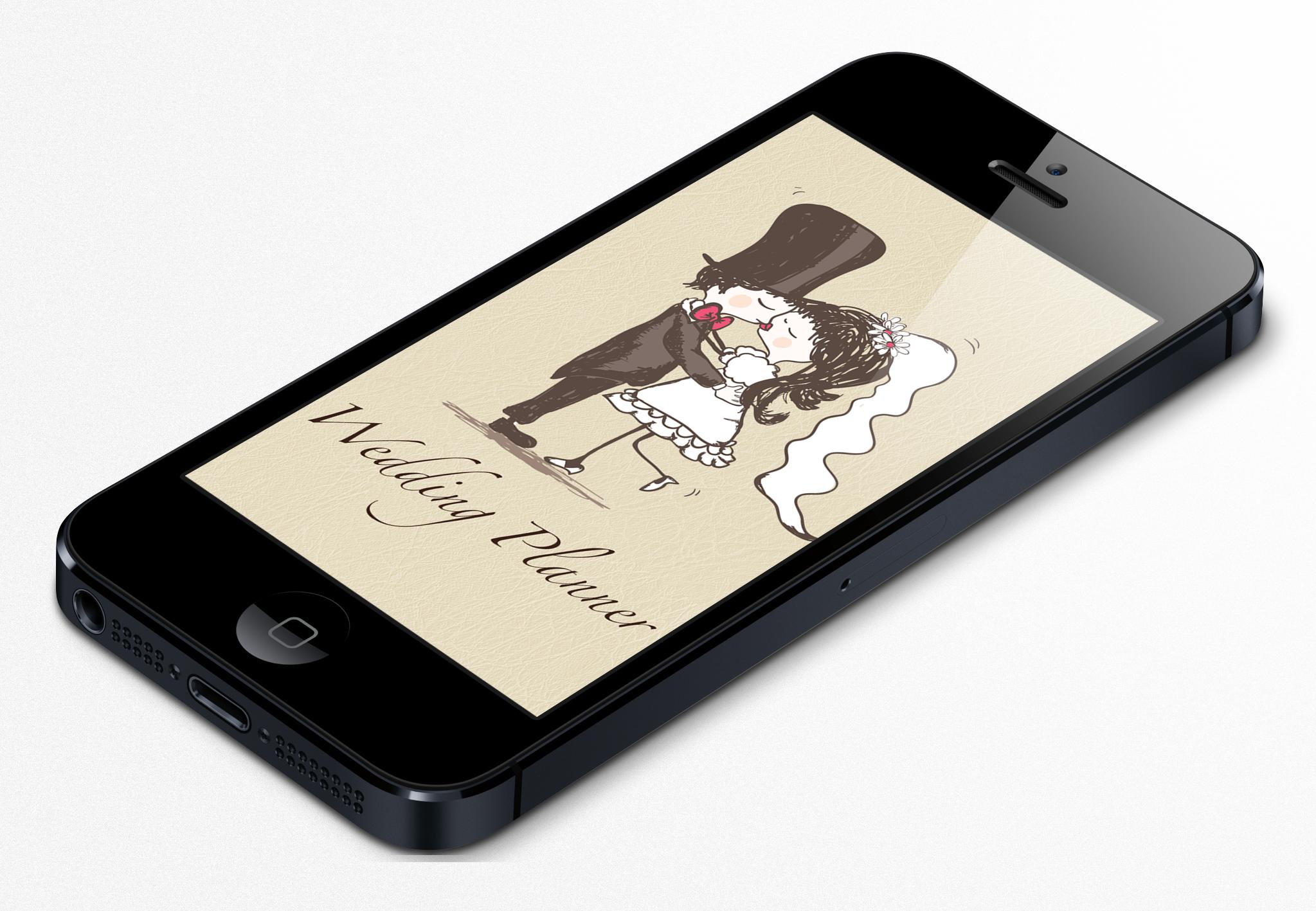 Hochzeitsplaner App iPhone 5